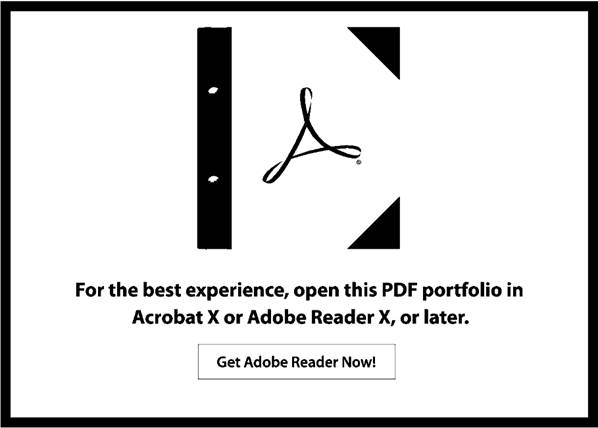 Portfolio Adobe Place Holder Page
